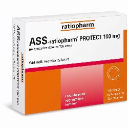 ASS RATIOPHARM PROT 100MG