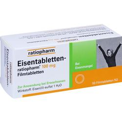 EISENTABLETTEN RATIO 100MG