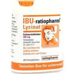 IBU RATIO LYS 500MG TABBOX